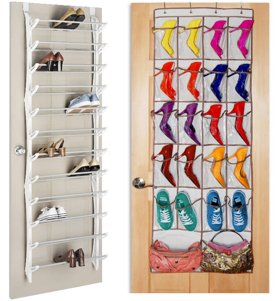 Make the most of your small closet space todays maid for Hanging organizer ikea